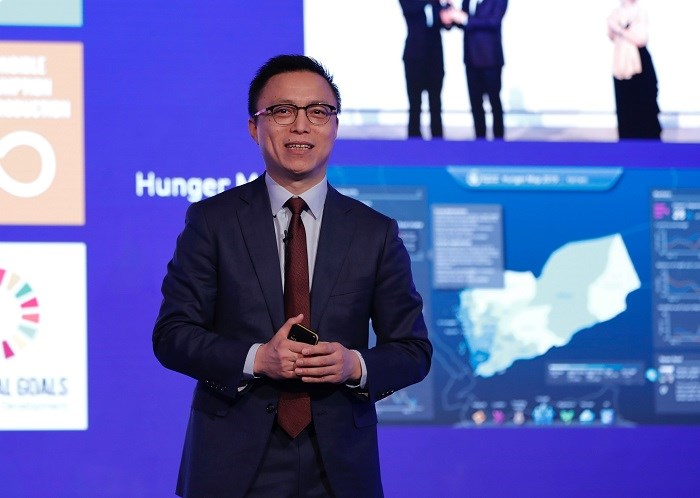 Eric Jing, Presidente e ceo di Ant Financial